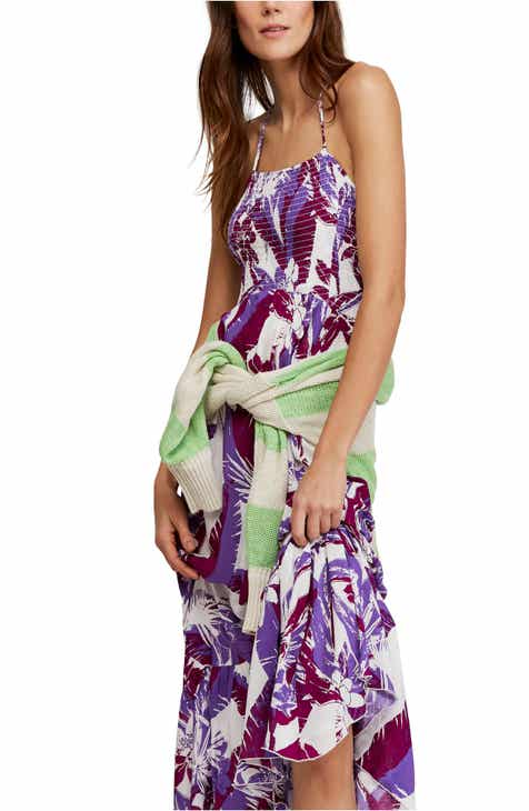 52ac872314 Free People Heat Wave Floral Print High/Low Dress