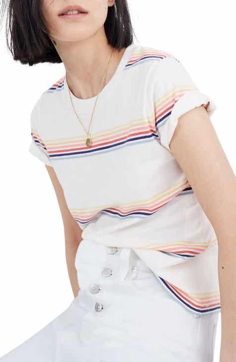 New Design Madewell Northside Vintage Stripe Tee Top Reviews