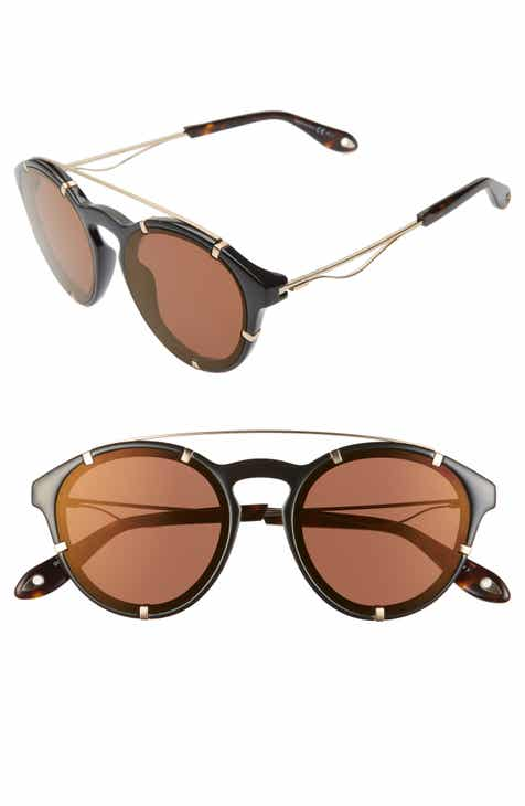 bf0c38b973b24 Givenchy 54mm Round Polarized Sunglasses