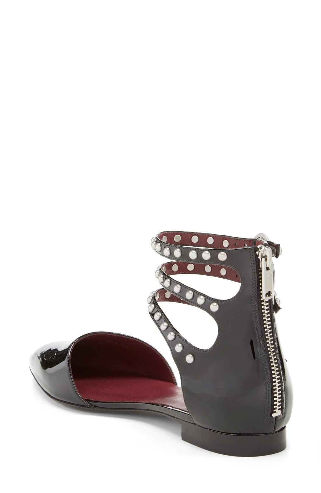 Alternate Image 2  - MARC BY MARC JACOBS 'Minetta' Ankle Strap Flat (Women)