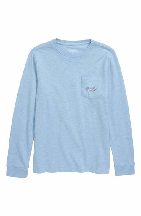 392a44118b vineyard vines USA Surf Logo Pocket T-Shirt (Toddler Boys