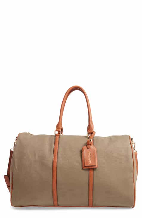 a7b455d0e Sole Society Lacie Faux Leather Duffle Bag