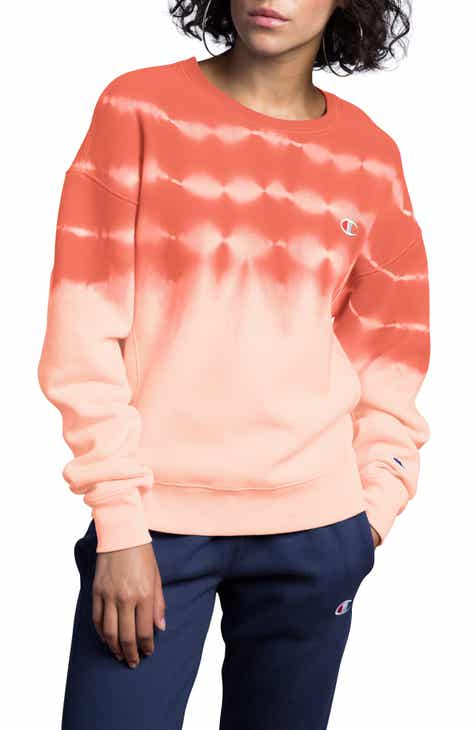 Champion Streak Dye Sweatshirt By CHAMPION by CHAMPION Discount