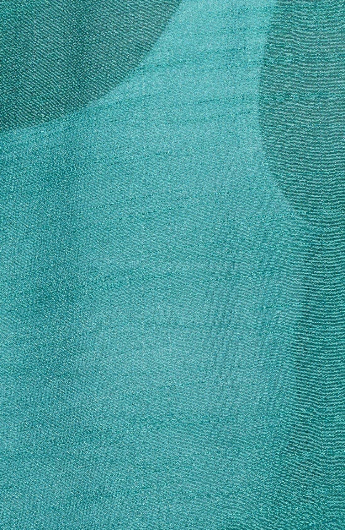 Alternate Image 3  - Bobeau High/Low Textured Blouse (Plus Size)
