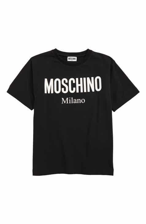 75b31352daa5 Moschino Logo Graphic T-Shirt (Little Kid & Big Kid)