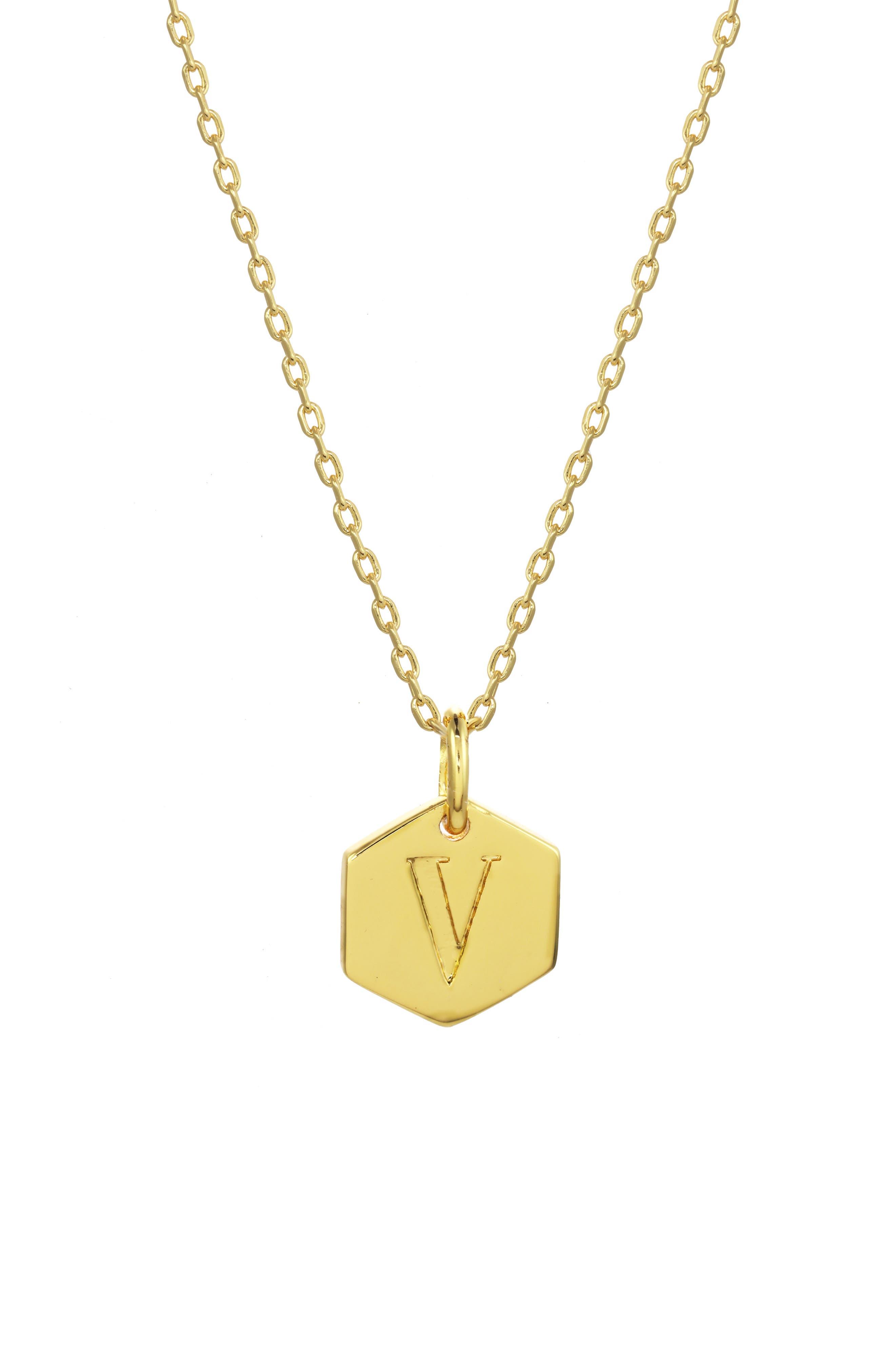 5f487557d Women's Monogram Necklaces | Nordstrom