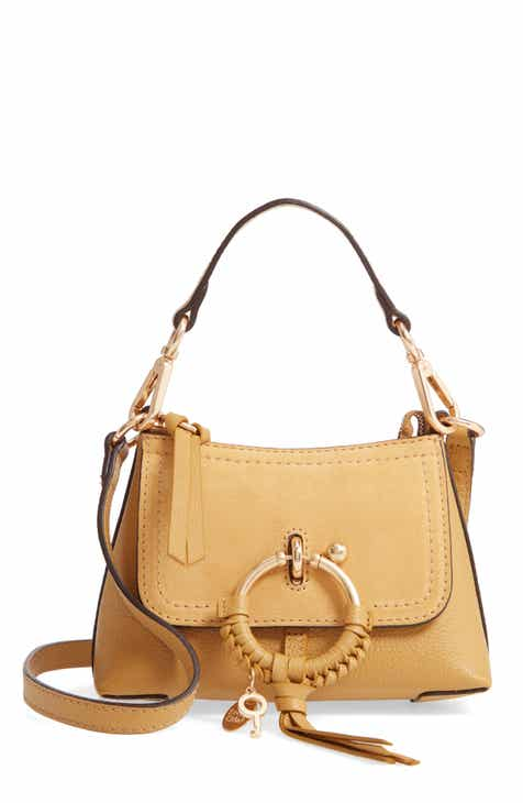 5e525300cf6 See by Chloé Mini Joan Leather Crossbody Bag