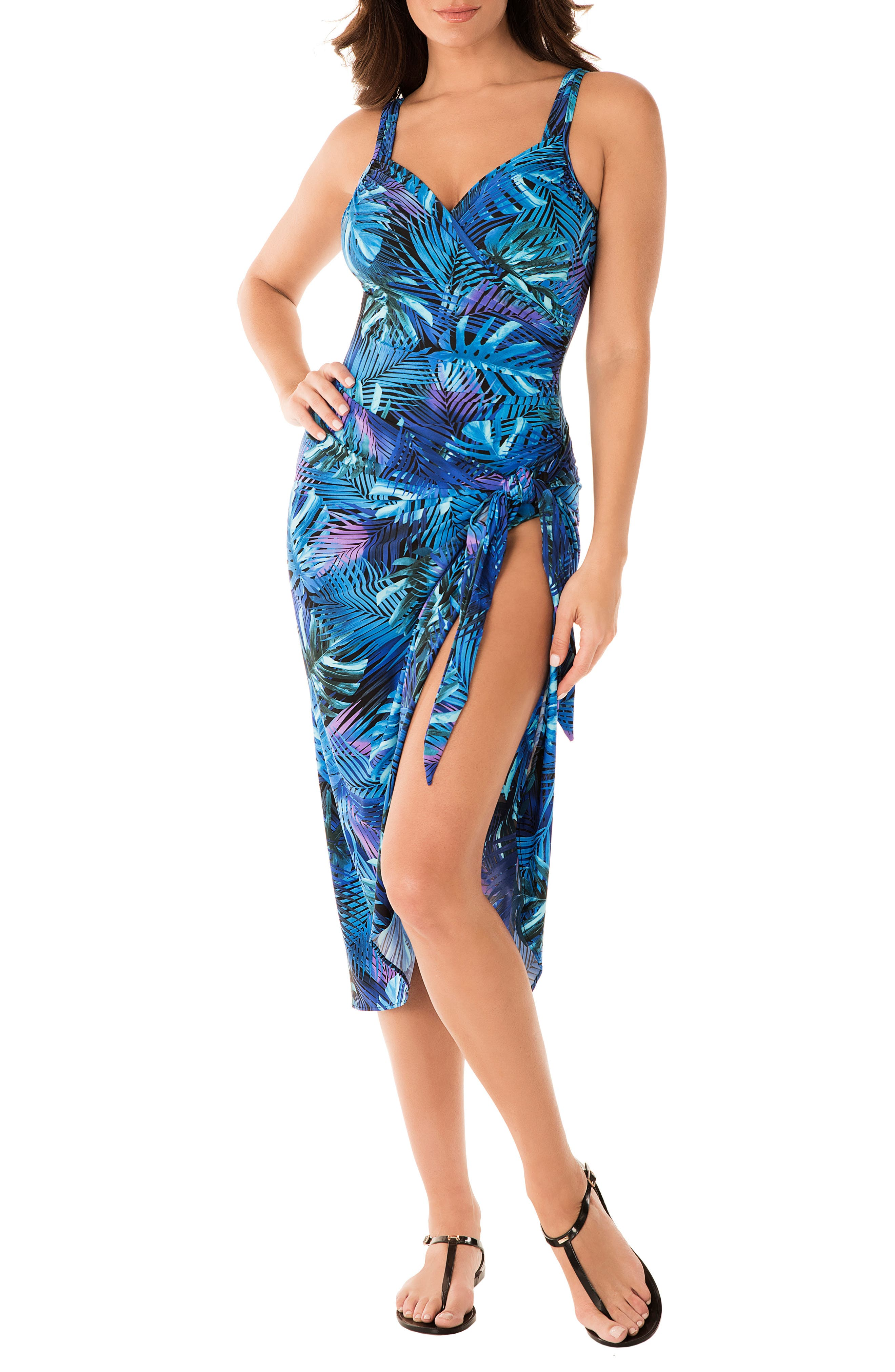 6090ddd0858bb8 Blue Sarongs, Pareos & Cover-Ups | Nordstrom
