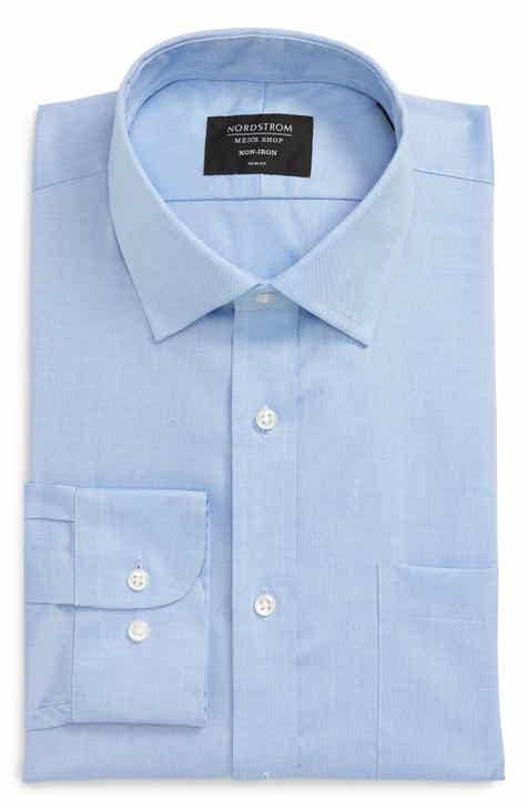 0b88068f Nordstrom Men's Shop Trim Fit Non-Iron Dress Shirt