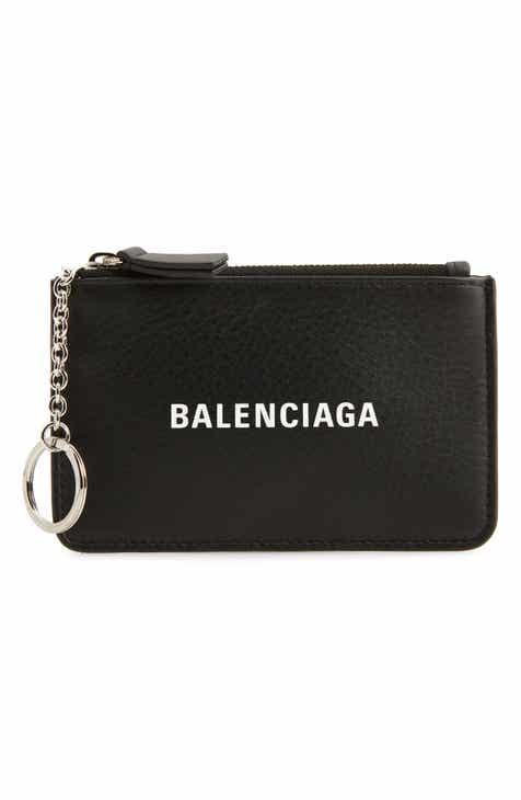 b62549724953e9 Balenciaga Everyday Leather Coin Purse