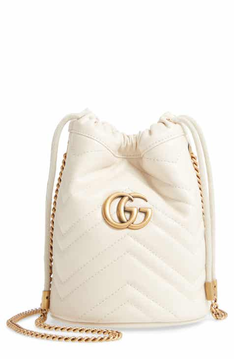 17543a63f Gucci Mini GG Marmont 2.0 Quilted Leather Bucket Bag