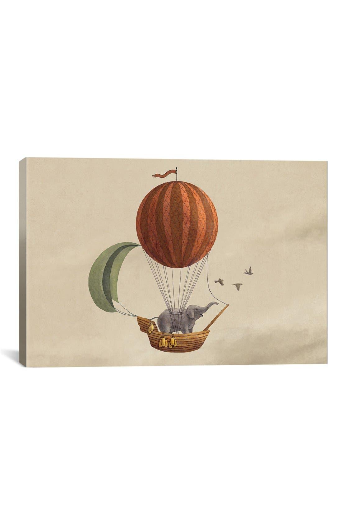 'Adventure Awaits Landscape - Terry Fan' Giclée Print Canvas Art,                         Main,                         color, Beige