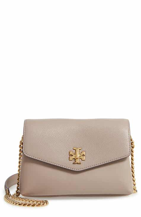 44eab6f6c Tory Burch Mini Kira Mixed Leather Crossbody Bag