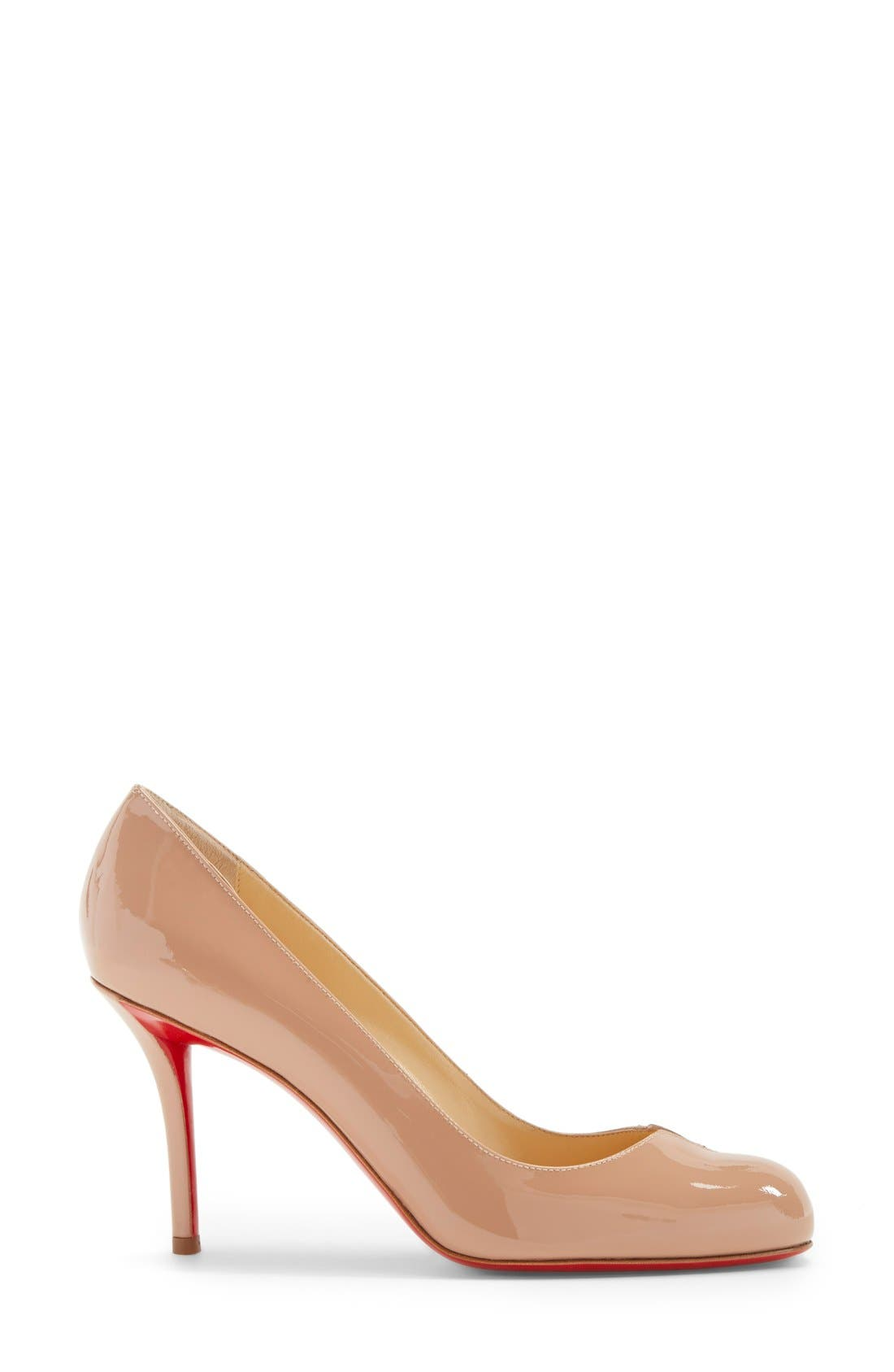 Alternate Image 4  - Christian Louboutin 'Sophia Regina' Notched Round Toe Pump