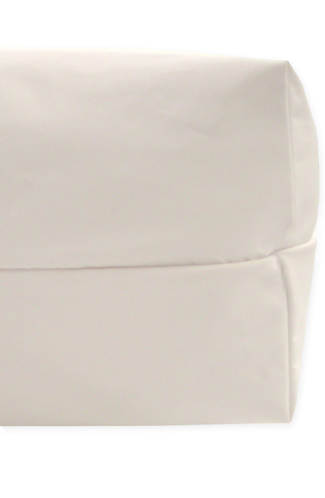 Lightweight Organic Cotton Classic 2-Stage Crib Mattress,                             Alternate thumbnail 2, color,                             White