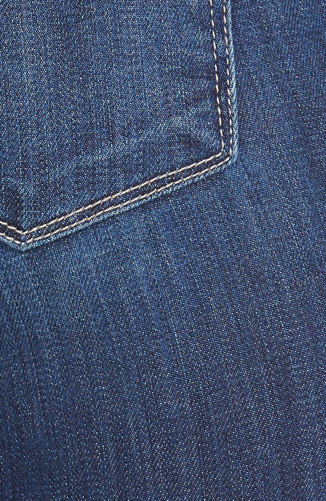 Alternate Image 4  - Paige Denim 'Skyline' Skinny Jeans (Raya) (Nordstrom Exclusive)