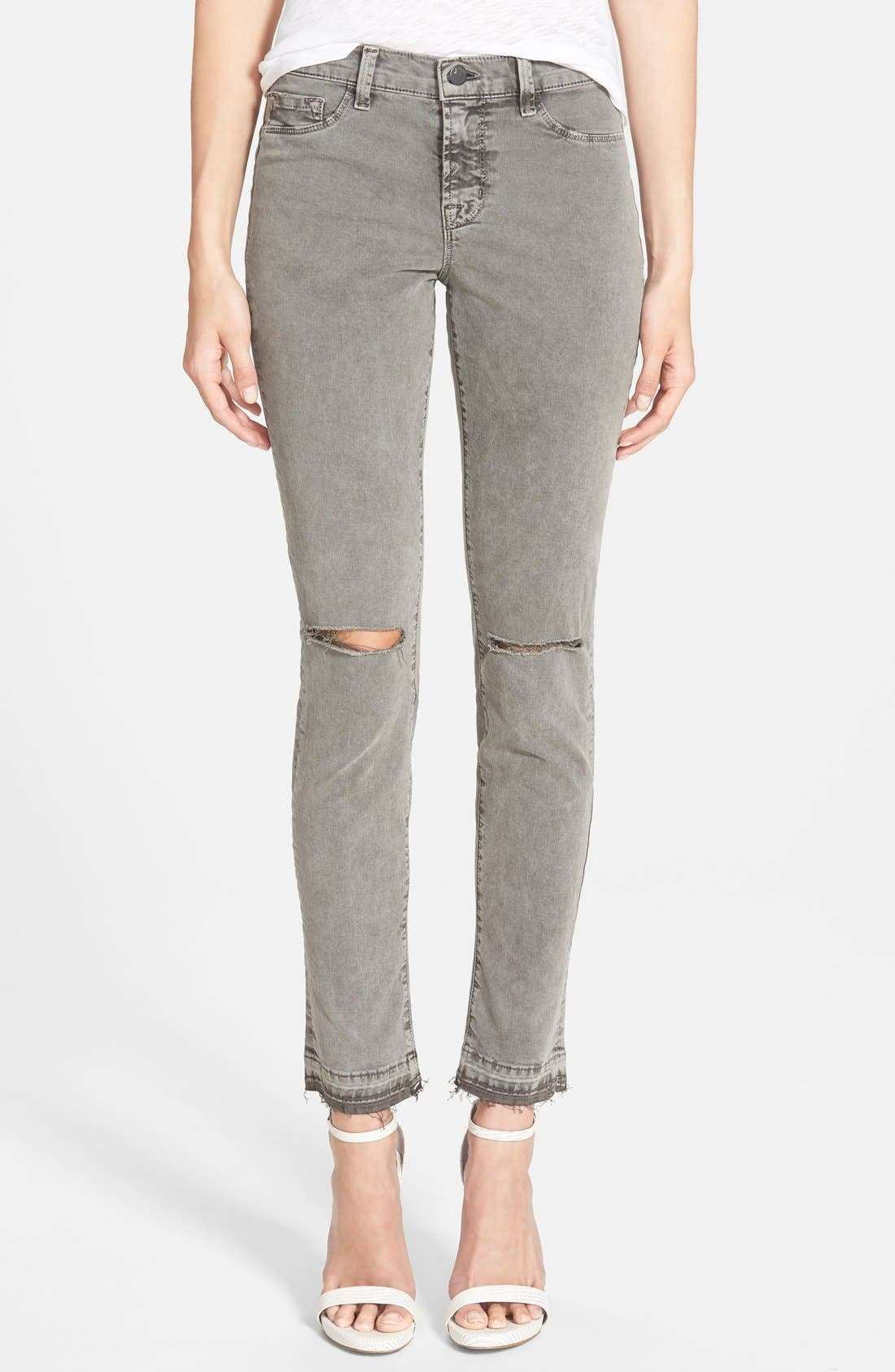 Alternate Image 1 Selected - J Brand Mid Rise Skinny Jeans