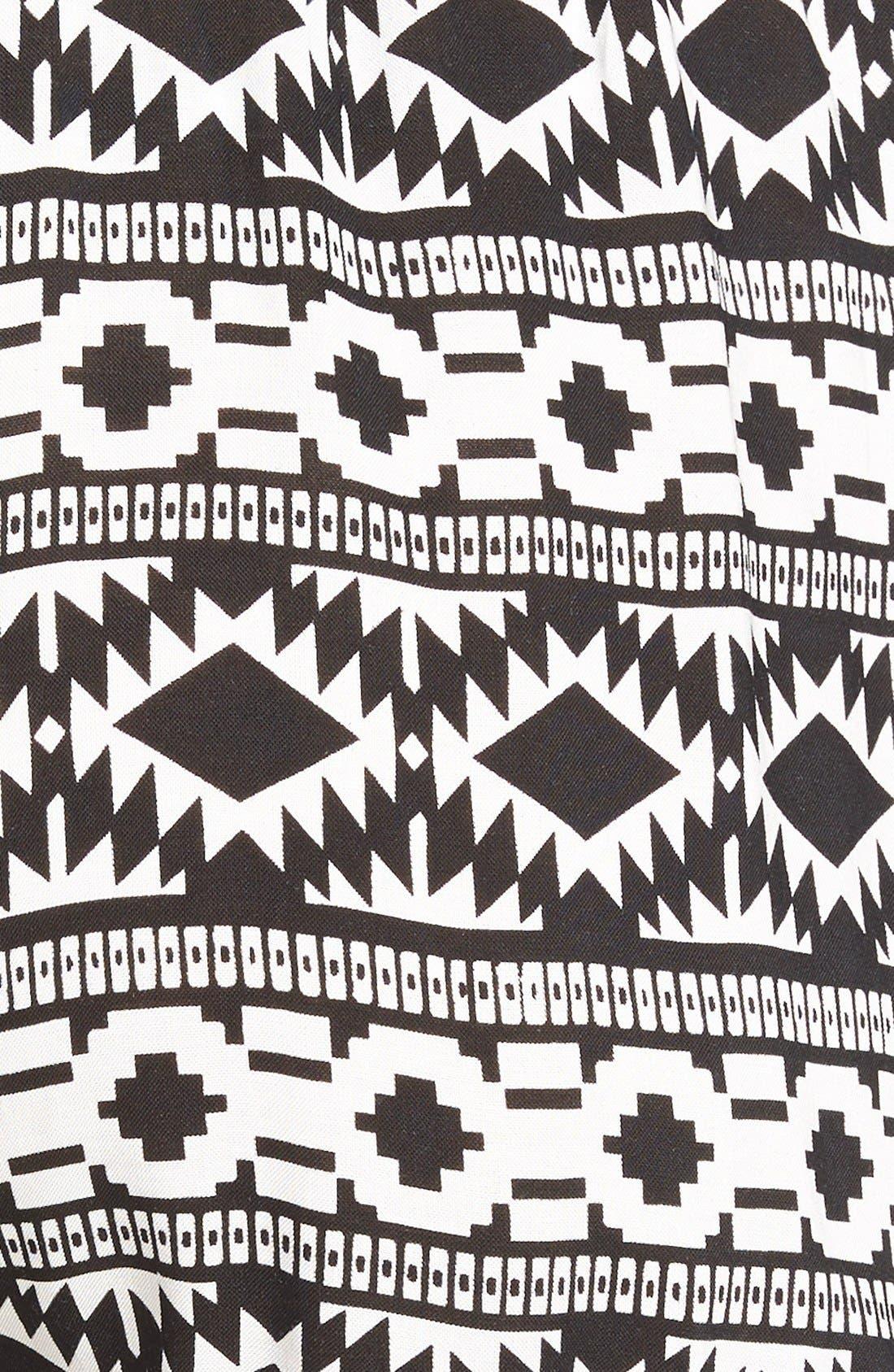 Alternate Image 3  - Vigoss 'Pom Pom' Geo Print Shorts