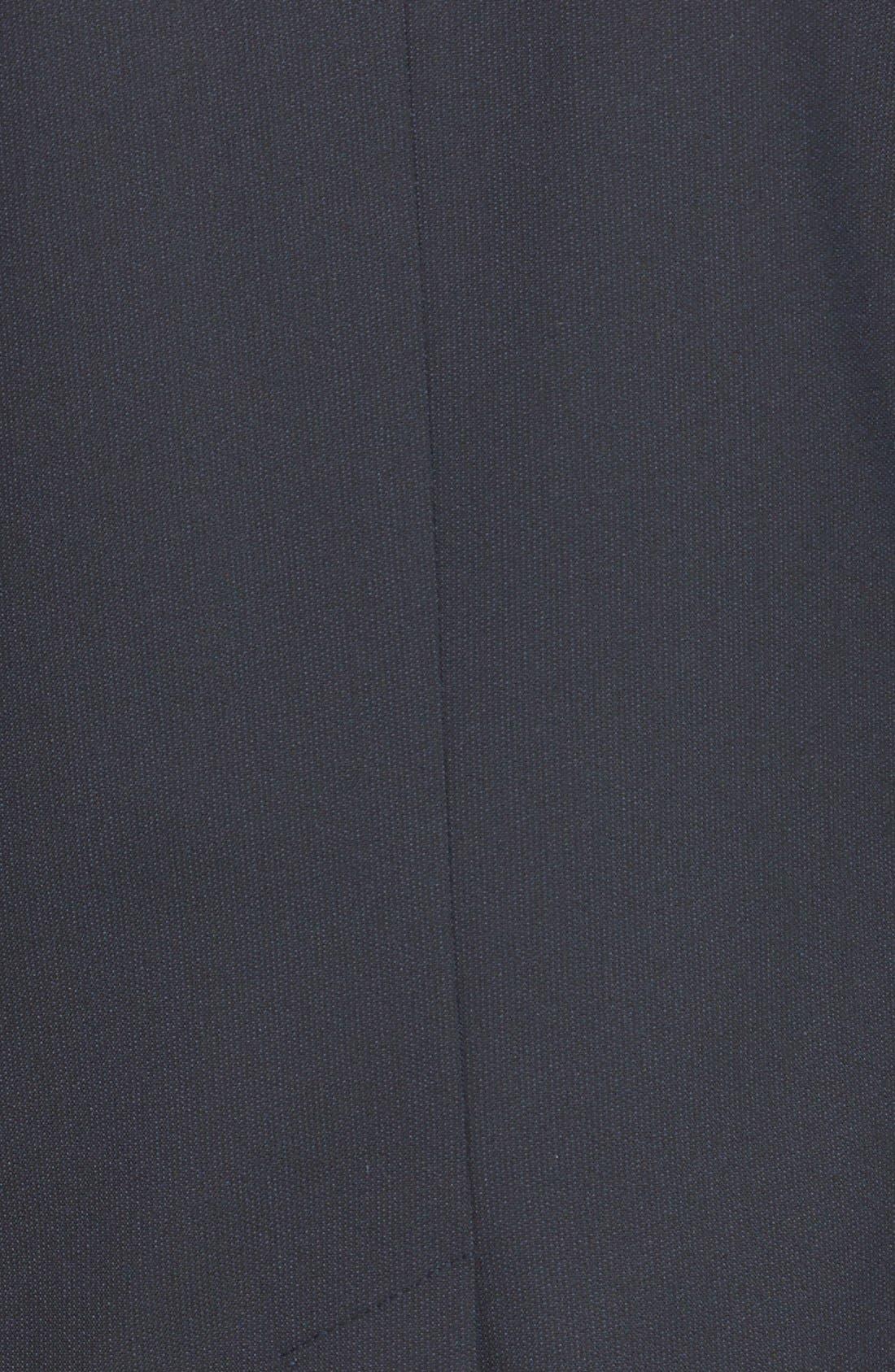 Alternate Image 3  - Halogen® Lapis Pattern Suit Jacket (Regular & Petite)