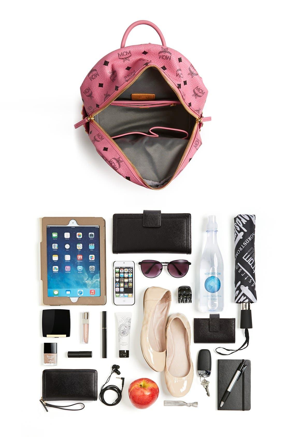 Alternate Image 7  - MCM 'Small Stark' Side Stud Backpack