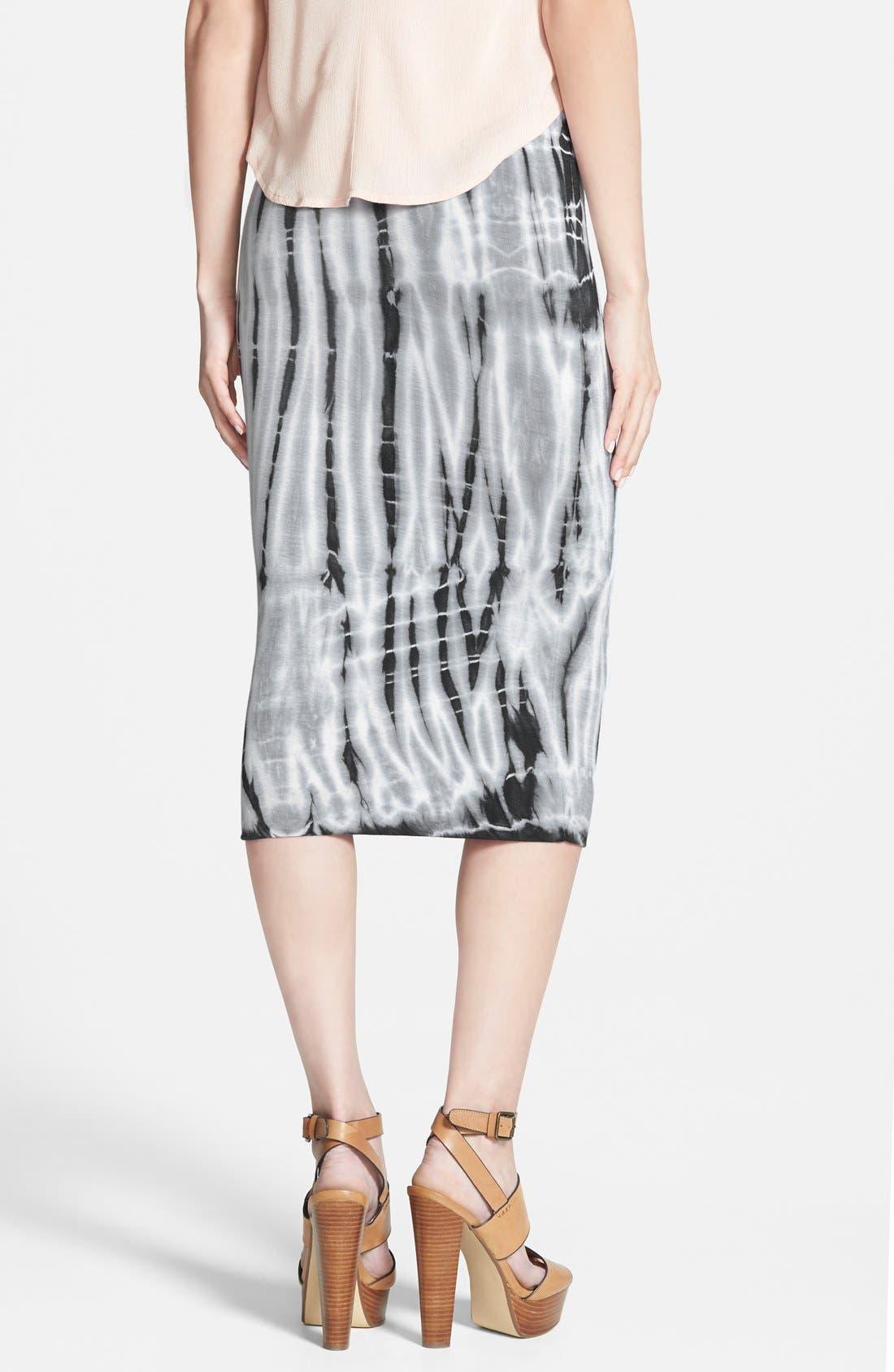 Alternate Image 2  - Leith Tie Dye Tube Skirt