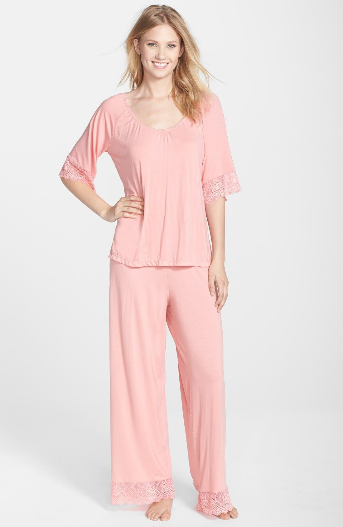 Alternate Image 1 Selected - Belabumbum 'Tallulah' Maternity Tunic & Pants