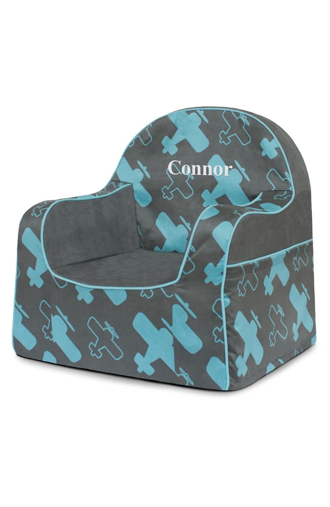 'Personalized Little Reader' Chair,                             Main thumbnail 1, color,                             Planes