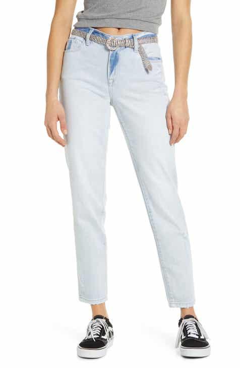 BLANKNYC Ludlow Belted Girlfriend Jeans (Allstar) Discount Code