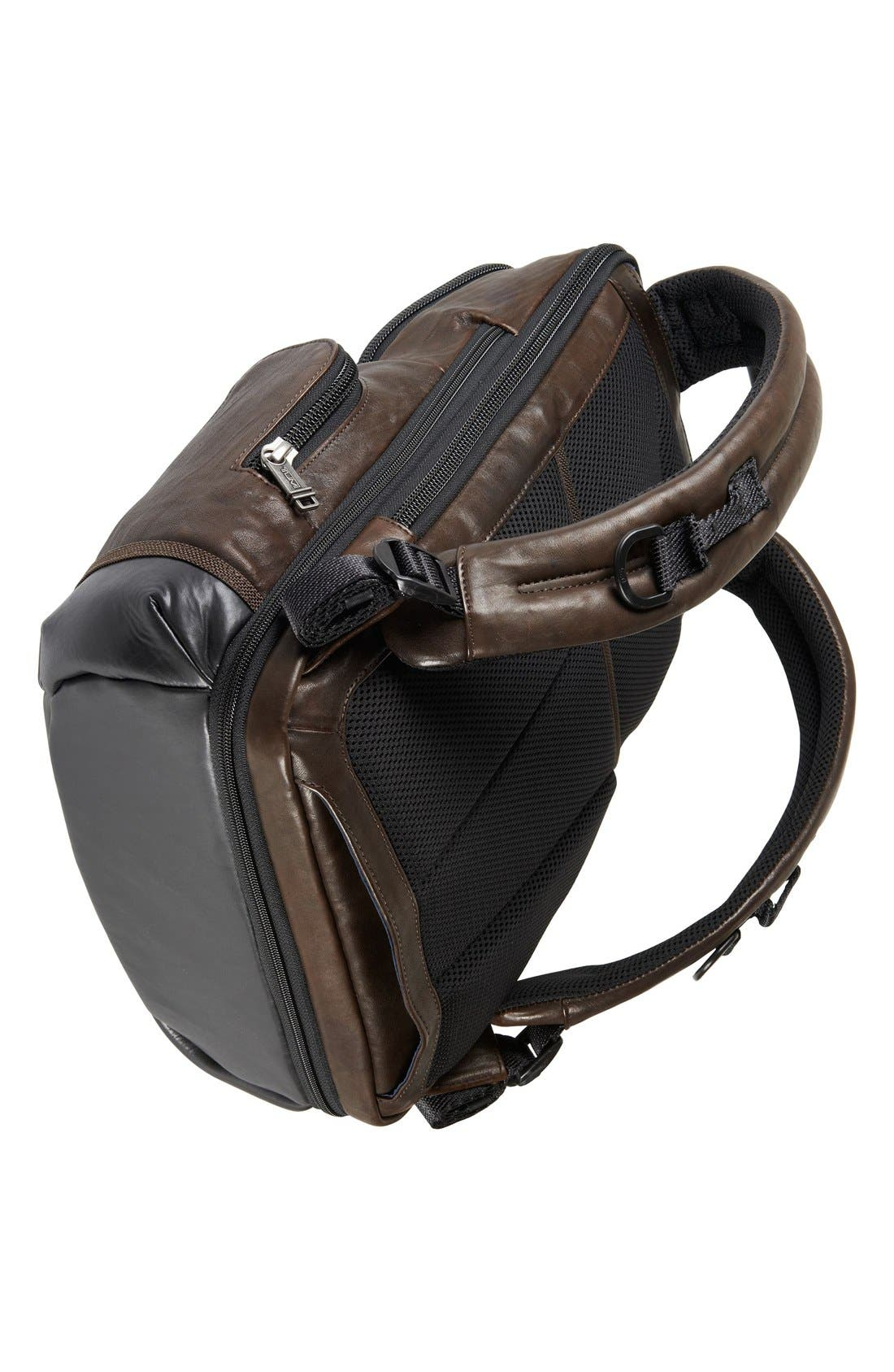 Alternate Image 6  - Tumi 'Bravo - Knox' Leather Backpack