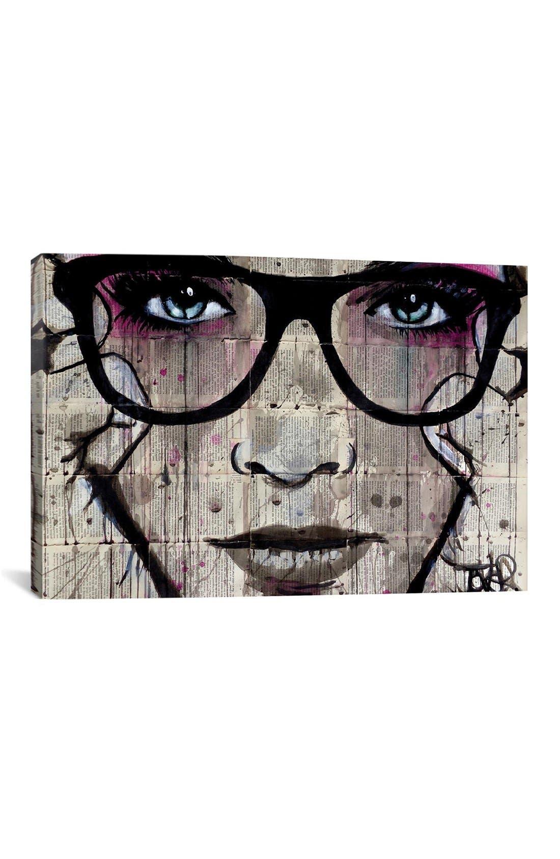 'Specs' Giclée Print Canvas Art,                         Main,                         color, Black