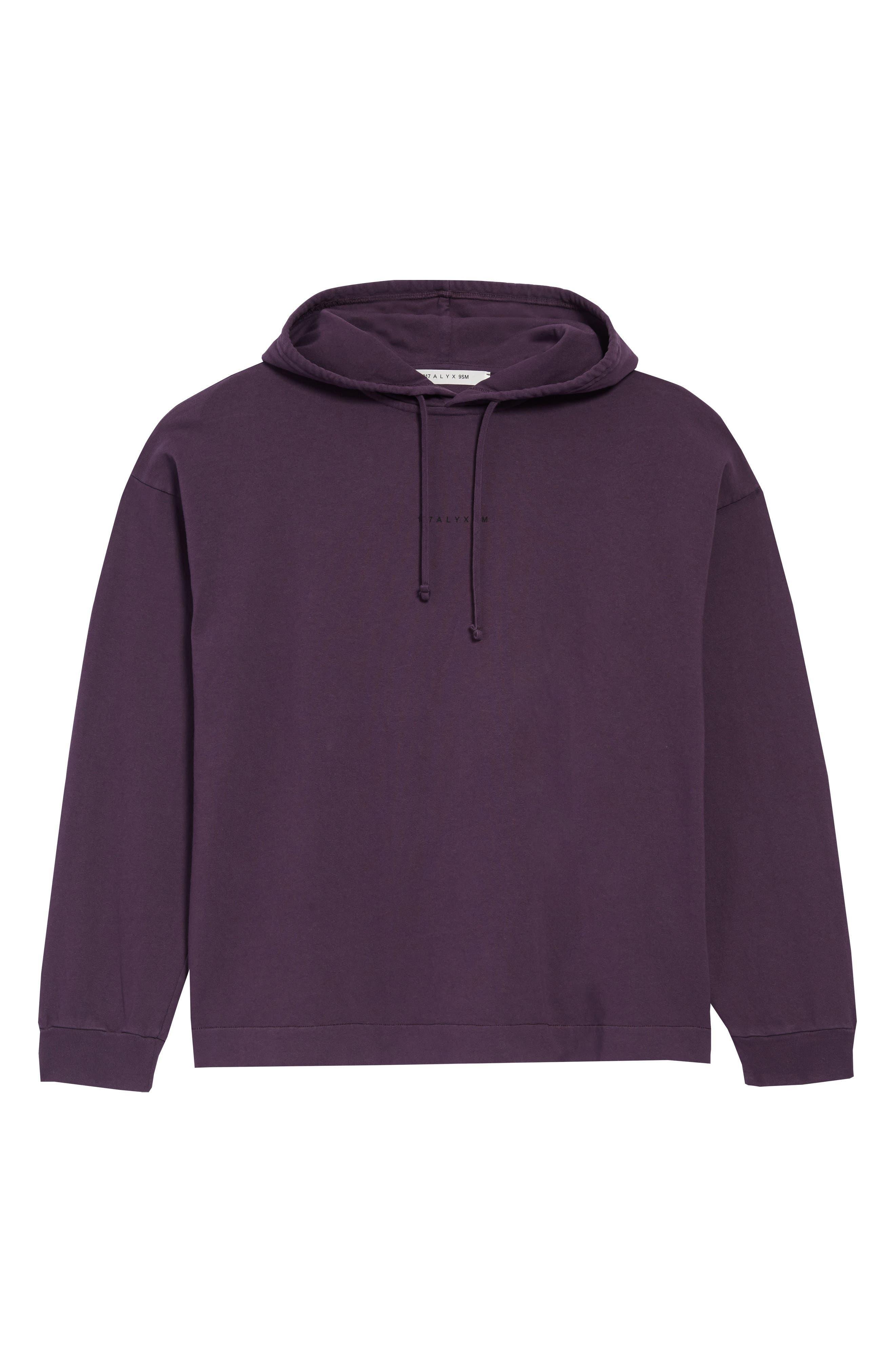 Violet Mist Hurley Women/'s High Tides Pullover Fleece Sweatshirt