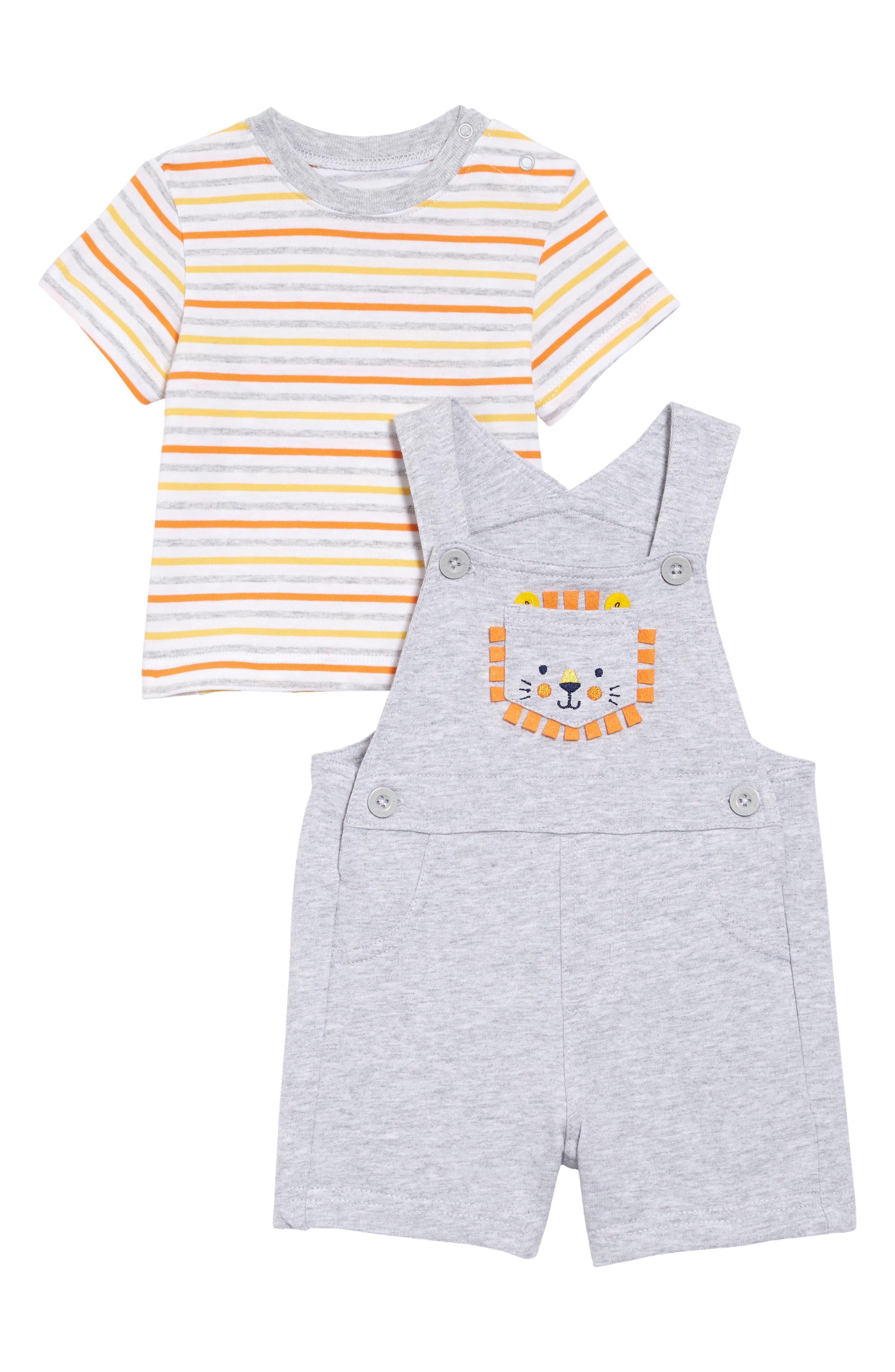 Little Me Baby-Boys Newborn Club Tie Short Set