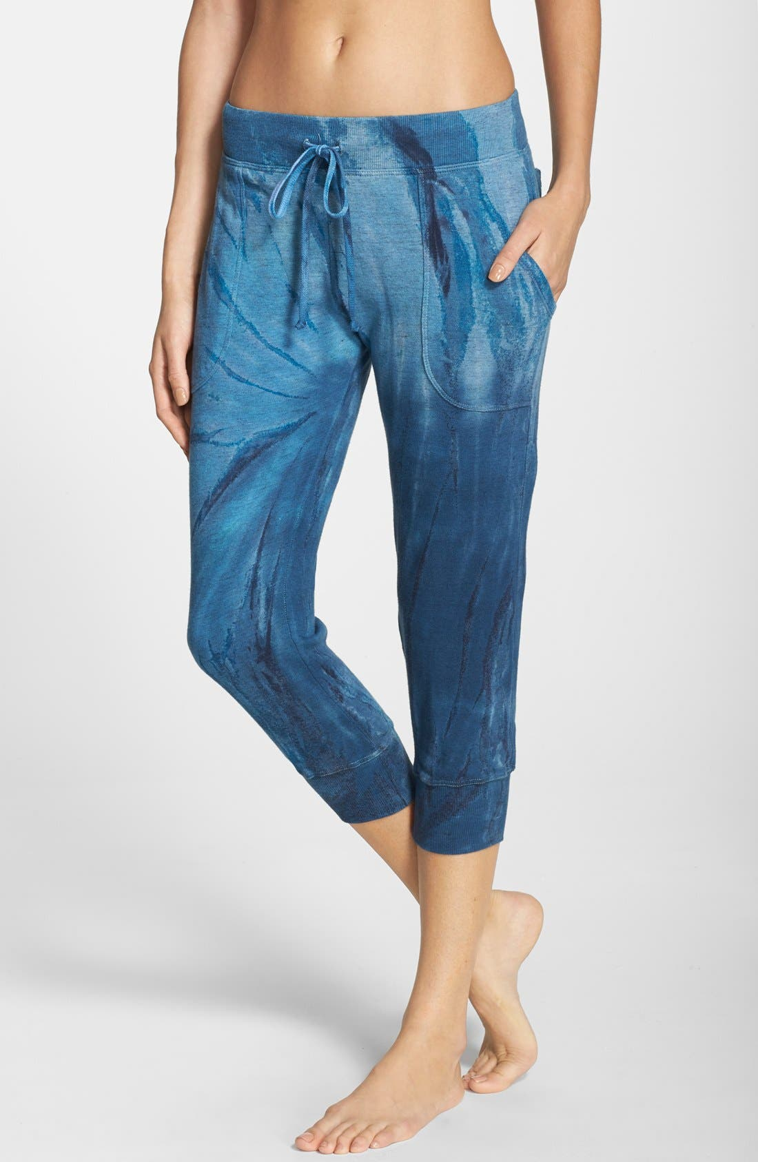 Alternate Image 1 Selected - Hard Tail 'Vintage Heather' Cargo Capris