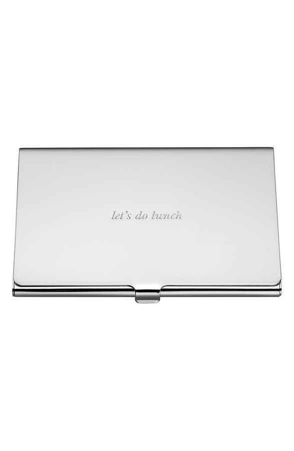 kate spade new york let\'s do lunch business card holder | Nordstrom