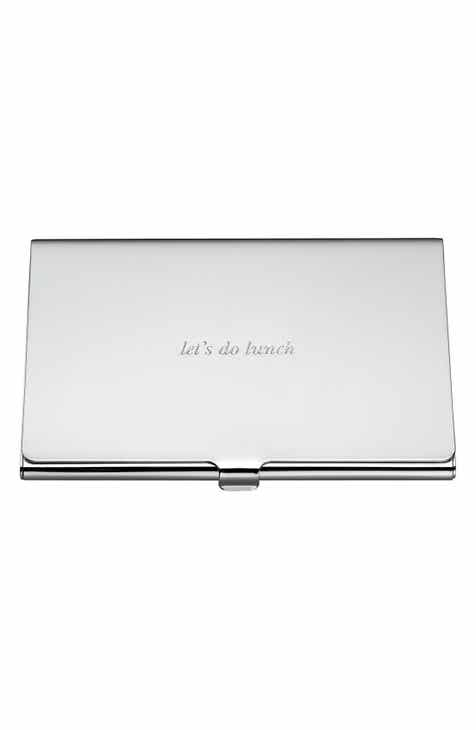 Under 25 wallets card cases for women nordstrom kate spade new york lets do lunch business card holder colourmoves