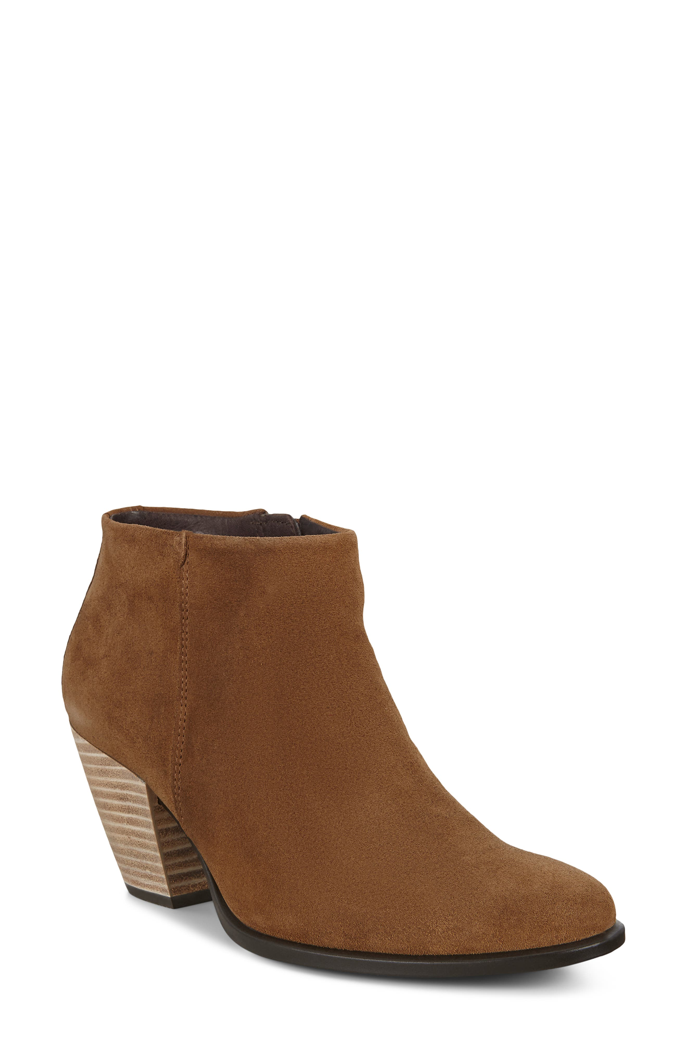 Trary Womens Ankle Boots Round Toe Low Heel Bootie for Women