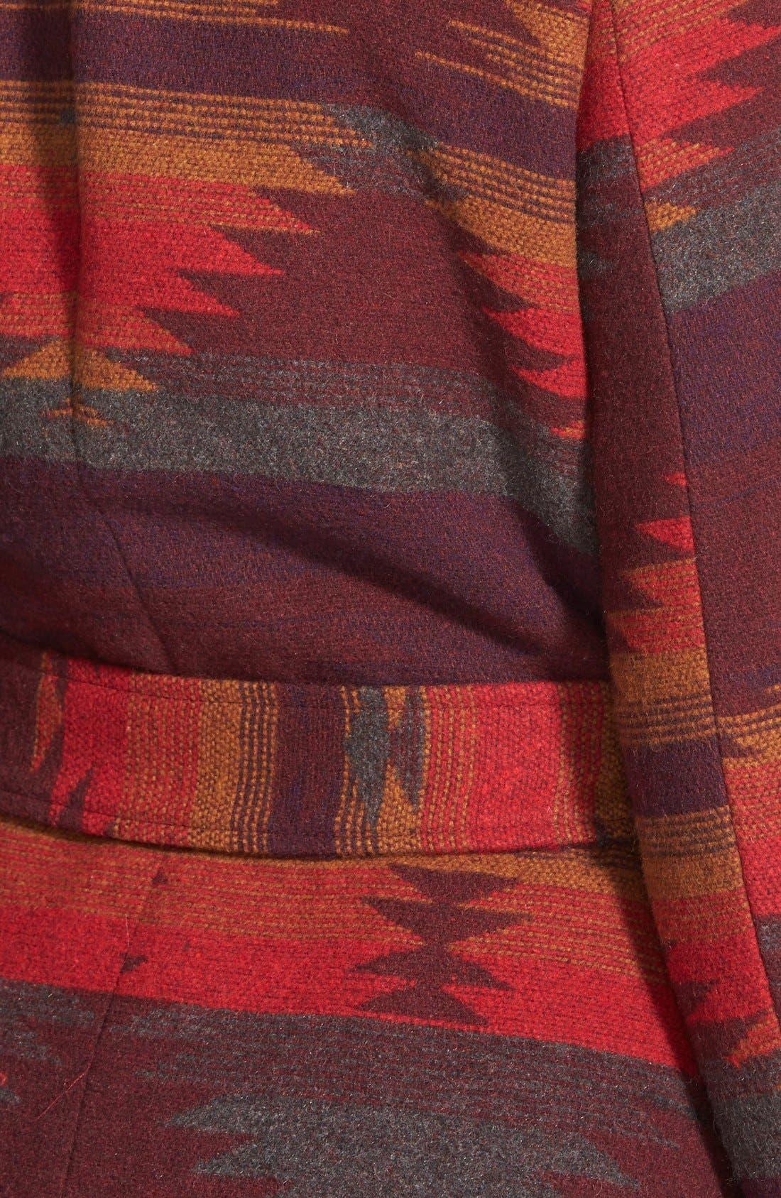 Alternate Image 3  - Steve Madden Blanket Wrap Coat