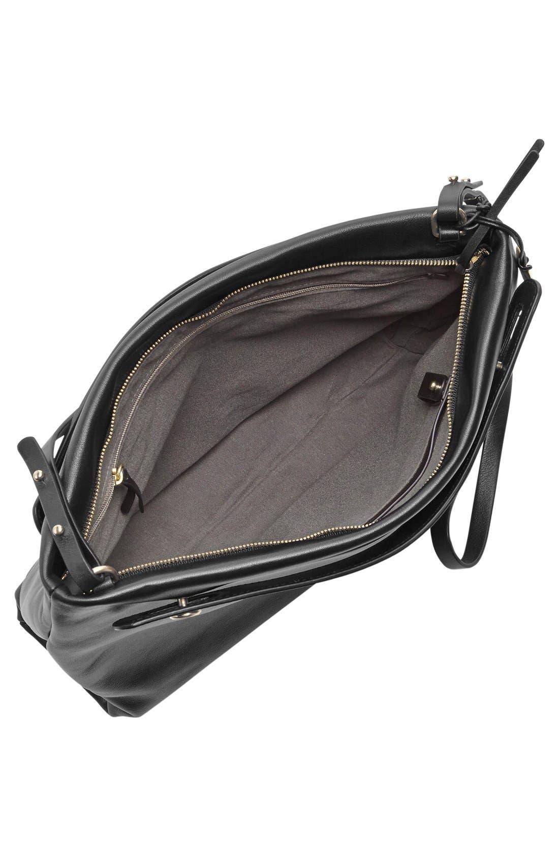 Alternate Image 3  - Skagen 'Mikkeline' Leather Satchel