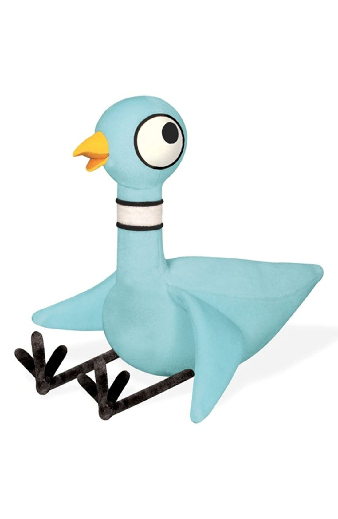 Pigeon Talking Stuffed Animal,                             Main thumbnail 1, color,                             Blue