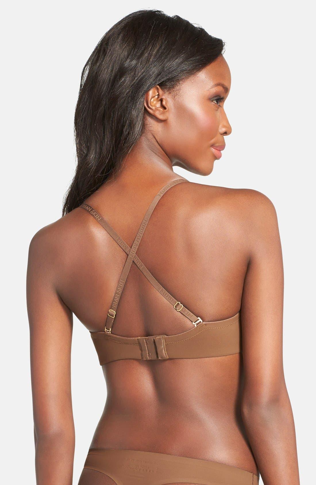 Alternate Image 5  - Nubian Skin 'The Thong' Seamless Thong