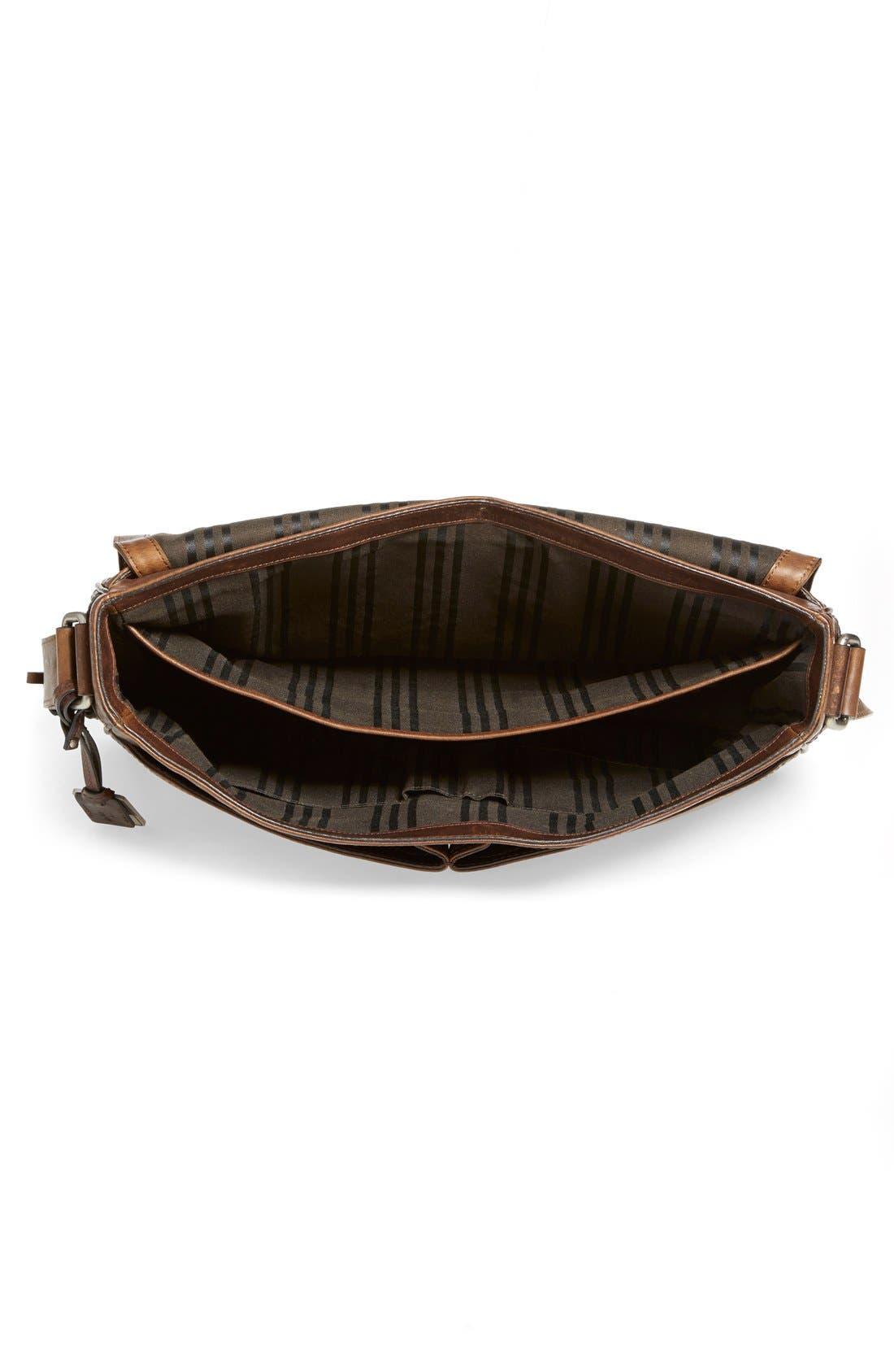 Alternate Image 4  - Frye 'Oliver' Leather Messenger Bag