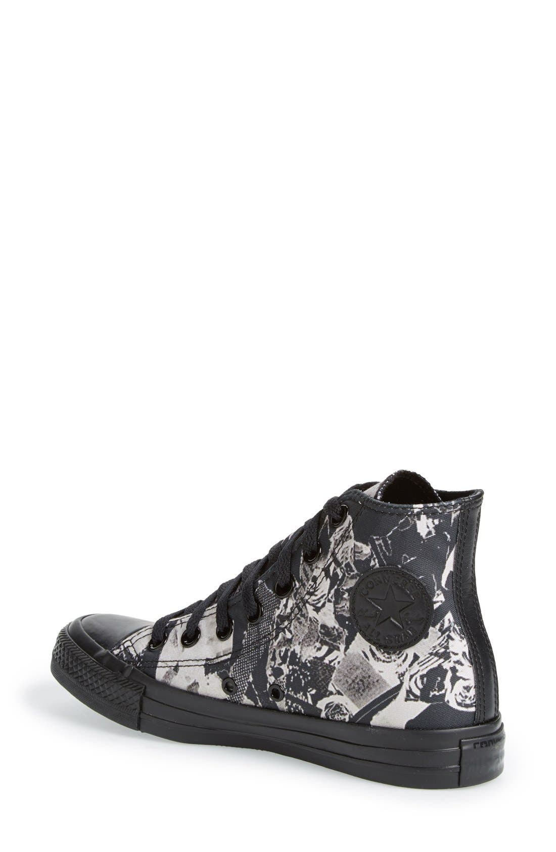 Alternate Image 2  - Converse Chuck Taylor® All Star® Print High Top Sneaker (Women)