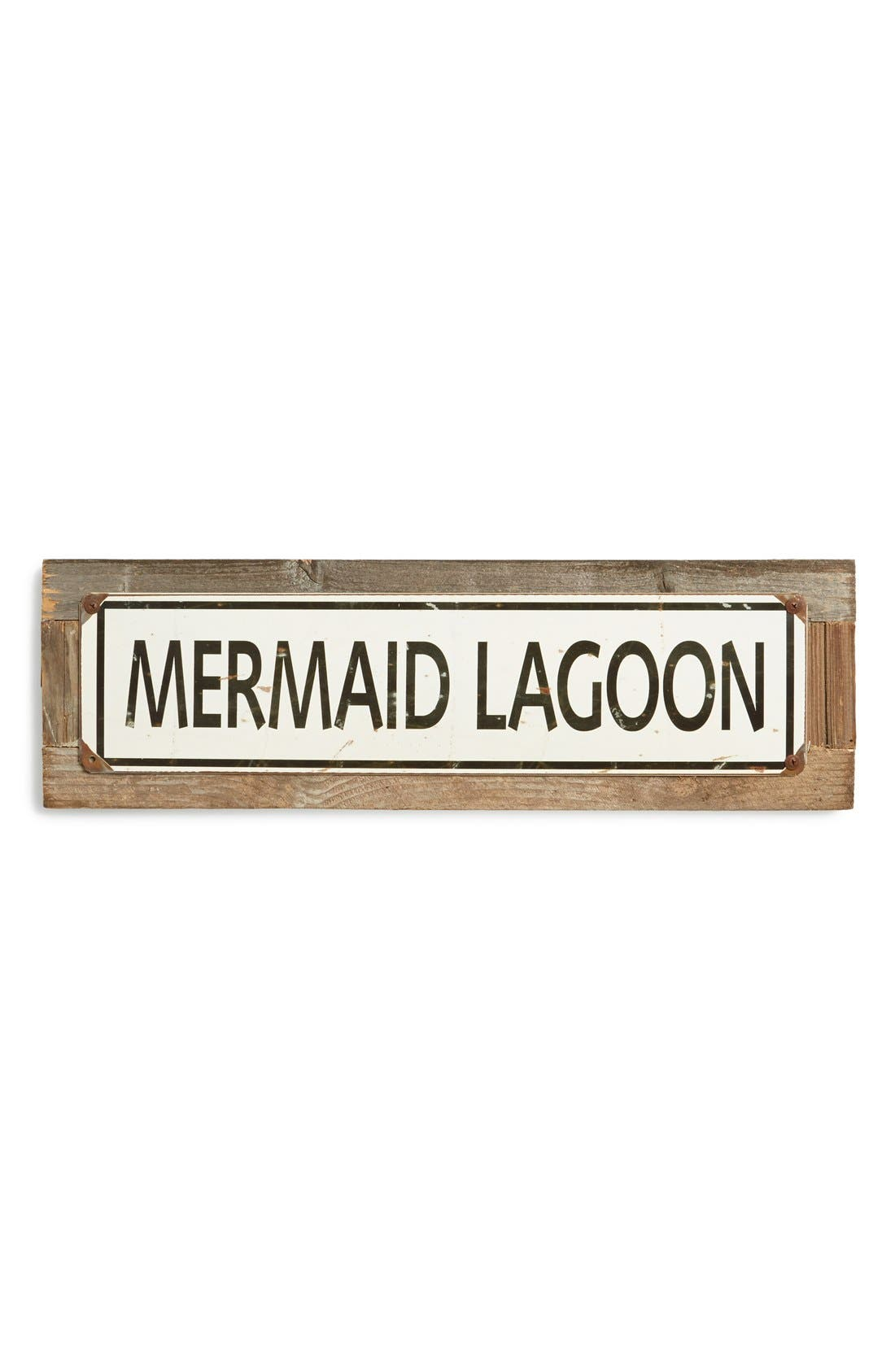 Alternate Image 1 Selected - Poncho & Goldstein 'Mermaid Lagoon' Sign