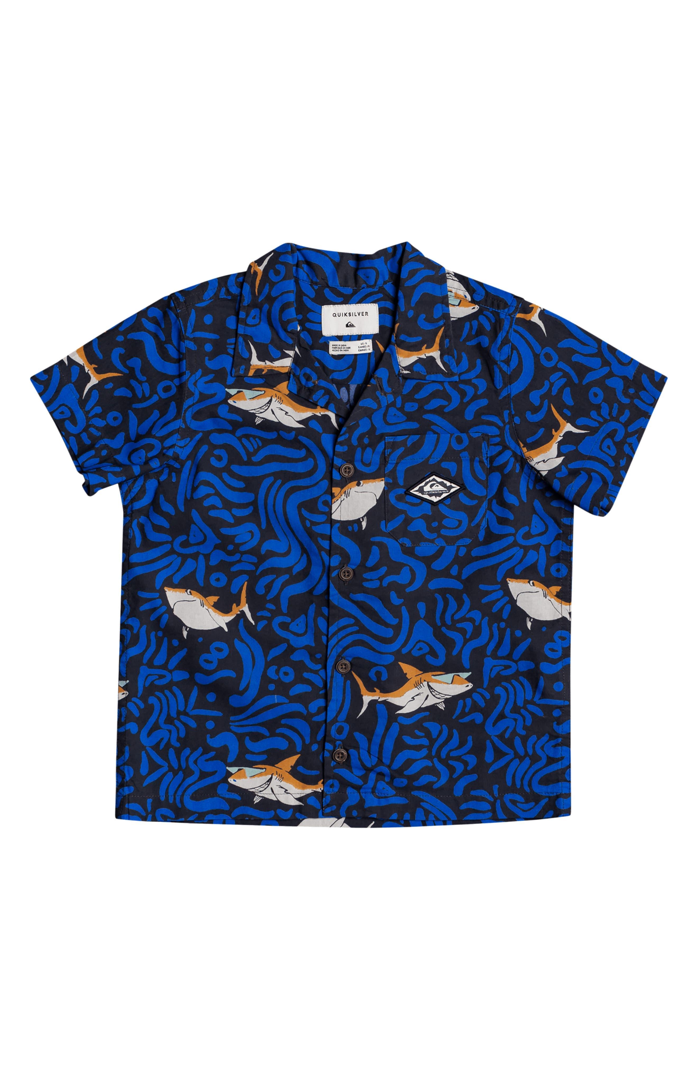 Quiksilver Little Pacific Shirt Short Sleeve Boy Woven