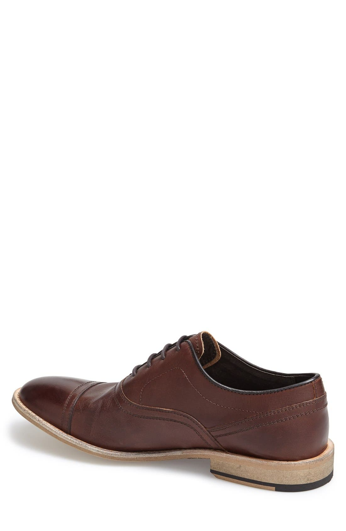 Alternate Image 2  - Andrew Marc 'Henry' Cap Toe Oxford (Men)