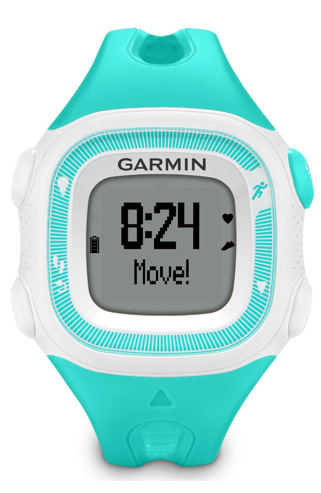 Alternate Image 6  - Garmin 'Forerunner 15' Fitness Watch, 46mm