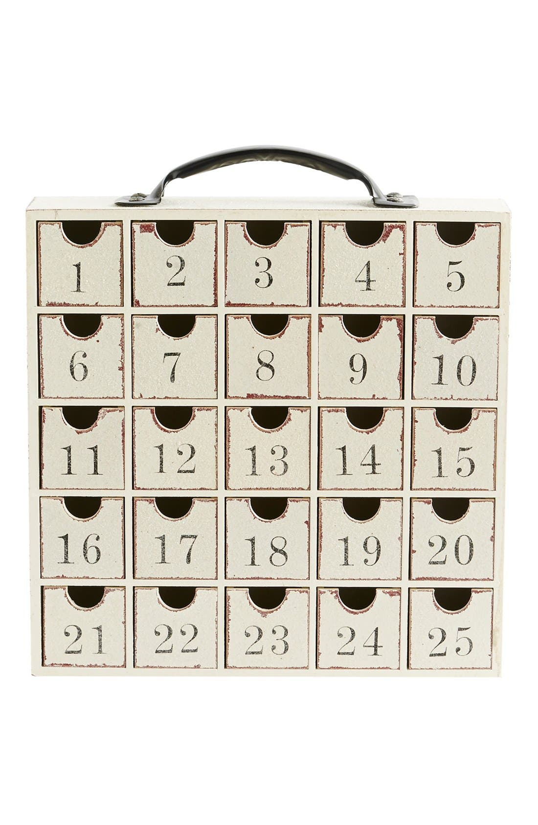 Alternate Image 1 Selected - K & K Interiors Advent Calendar Cabinet