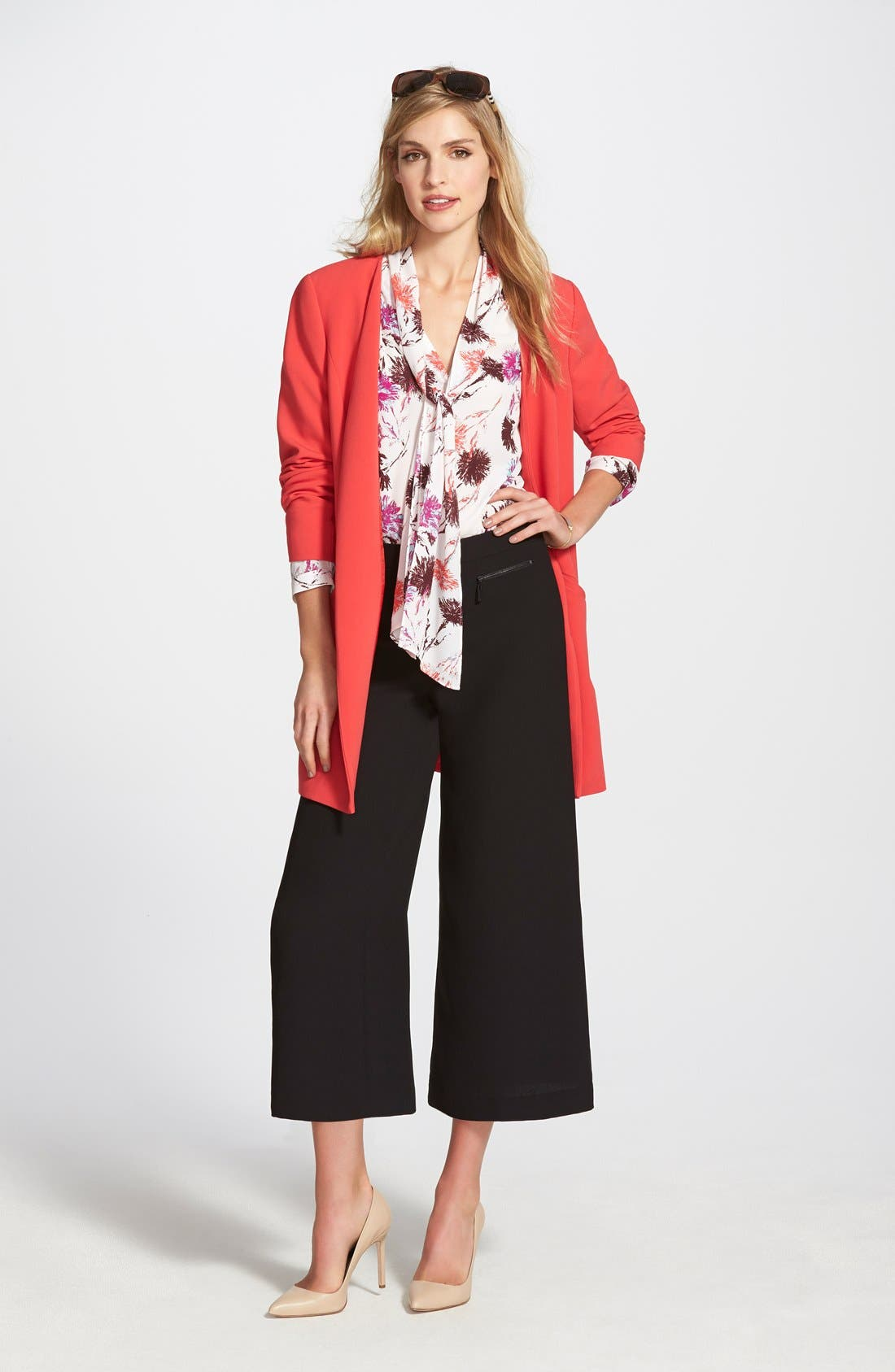 Alternate Image 5  - Vince Camuto Zip Pocket Culottes (Nordstrom Exclusive)