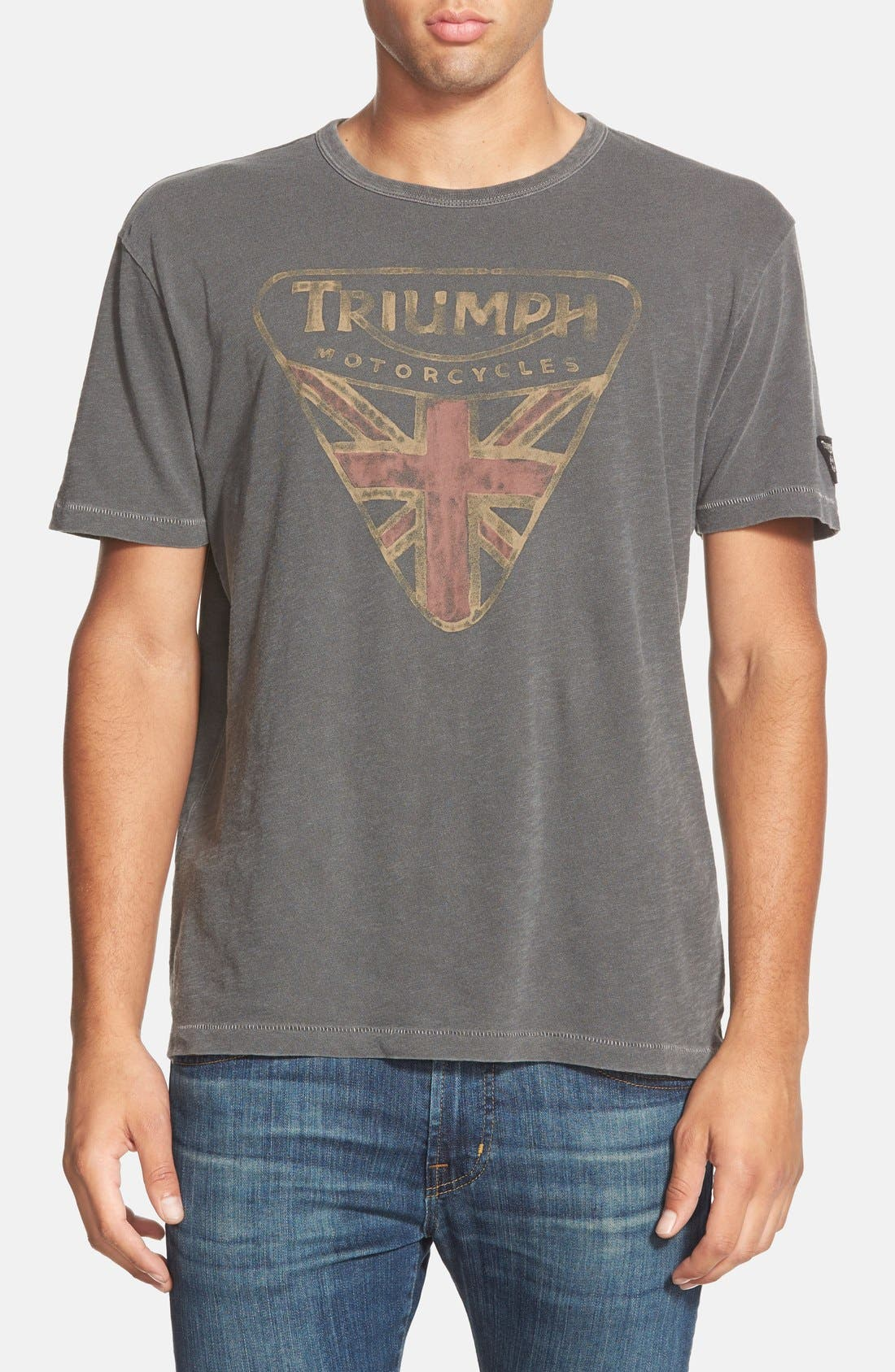 Lucky Brand 'Triumph Badge' Graphic T-Shirt