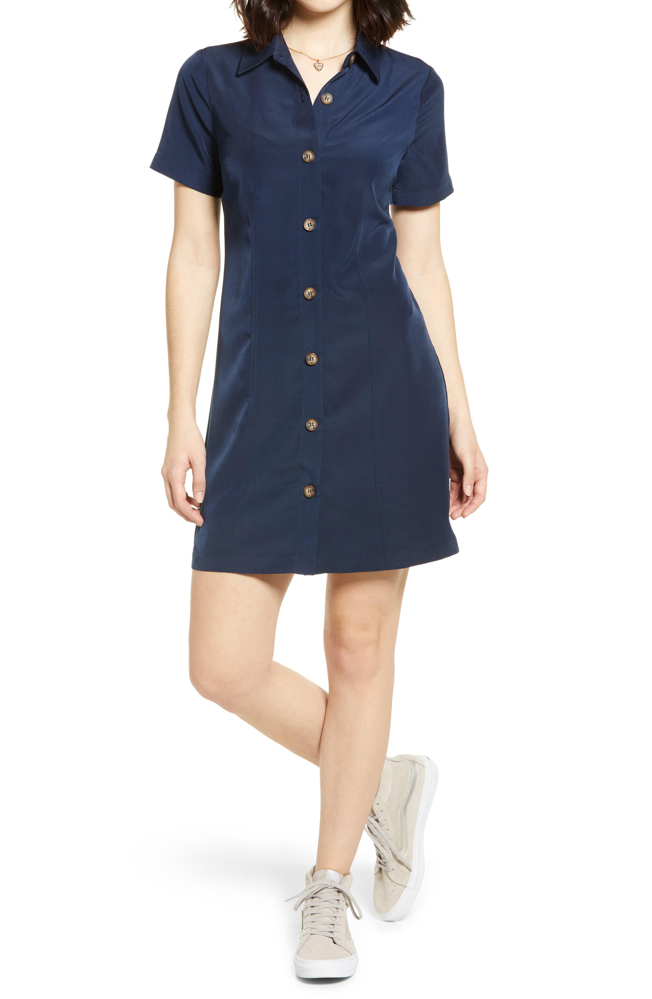 Women's Shirtdress Dresses   Nordstrom